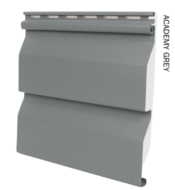 Sentry vinyl cladding in Academy Grey from Vinyl Cladding Professionals