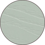 Cambridge vinyl cladding profile in Mist Green from Mitten Vinyl
