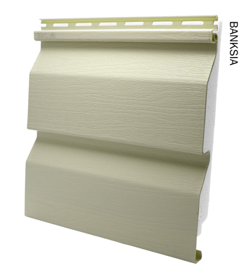 Duratuff vinyl cladding in Banksia from Vinyl Cladding Professionals